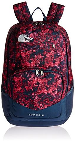 The North Face Unisex Wise Guy Backpack Gem Pink Halftone Mo