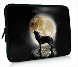 """iColor Universal Cool Wolf & Moon 11.6"""" 12"""" 12.1"""" Laptop Tab"""