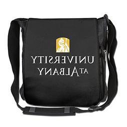CMCGH University At Albany Logo Messenger Bag Traveling Brie