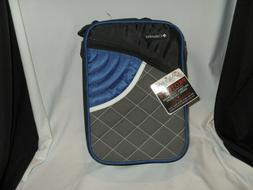 Columbia Upright Lunch Box/Bag - Blue/Silver/Black  - New