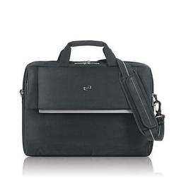 "SOLO Urban 17.3"" Laptop Briefcase Brief LVL330-4 Black"