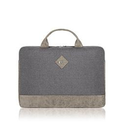 "Solo Urban Nomad Laptop Sleeve Handle 15.6"", Grey"