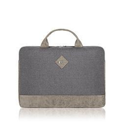 "Solo Urban Nomad Laptop Sleeve Handle 15.6"", Grey"