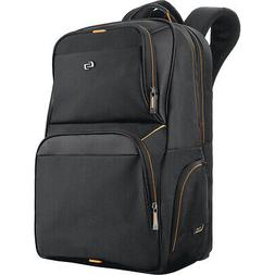 "SOLO Urban Thrive Laptop Backpack - 17.3"" - Black Business &"
