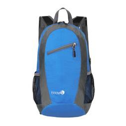 US New Unisex Sports Shoulder Backpack Double Zipper School