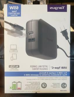 Targus USB-C 65 W Laptop Charger 4ft Cable APA104BT