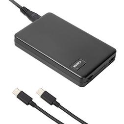 KAMERA 1USB1PD60 USB Type-C 60W Laptop Adapter, 2-Port AC Po