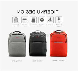 "Tigernu USB Charge 14"" Laptop Business Backpack Waterproof M"