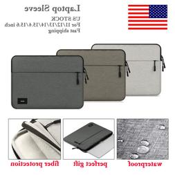 US·Laptop Sleeve Case Bag Carry Pouch for MacBook Microsoft