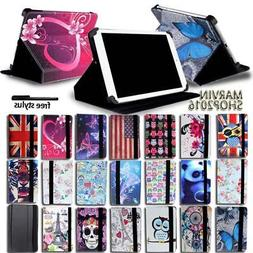 "For Various 7"" 8"" 10"" HP Slate Tablet - FOLIO LEATHER STAND"