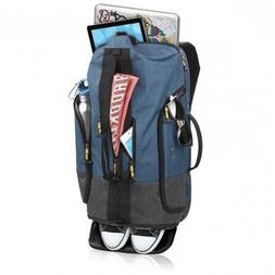 velocity backpack duffel 20 blue gray laptop