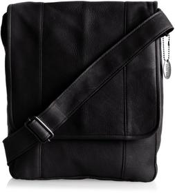 David King & Co. Vertical Mans Bag, Black, One Size