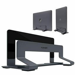 Macally Vertical Laptop Stand for Desk - Adjustable Laptop H