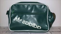 vintage 90s green sports rucksack satchel laptop