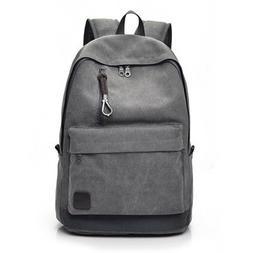 vintage canvas backpack rucksack laptop