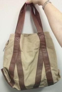 Leaper Vintage Canvas Shoulder Bag Tote Bag Hobo Shopper Duf