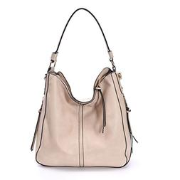 DDDH Vintage Hobo Handbags Large Shoulder Tote Messenger Bag