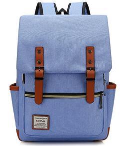 Kenox Vintage Laptop Backpack College Backpack School Bag Fi
