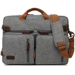 Kenox Vintage Laptop Backpack Messenger Briefcase Unisex Con