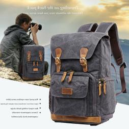 Vintage Waterproof Photography Backpack Camera Bag Premium C