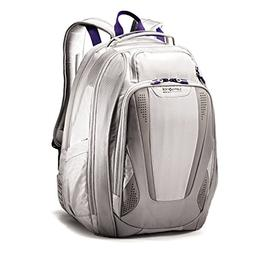 Samsonite Vizair 2 Laptop Backpack, Silver/Purple, One Size