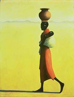 Wall Art Print entitled Woman Walking, 1990 by The Fine Art