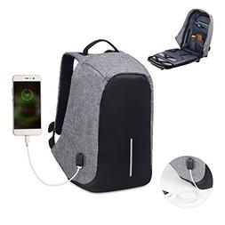 Water Resistant Laptop Backpack , Lightweight computer backp