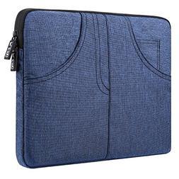 Plemo 13 - 13.3 In Water Resistant Sleeve Denim Laptop Case