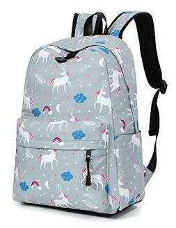 Leaper Water-resistant Unicorn Laptop Backpack School Bag Tr