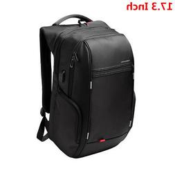 Waterproof 15/17 Inch Men Notebook Nylon Laptop Backpack USB