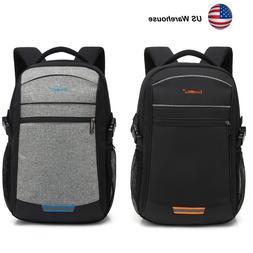 """Waterproof 15.6"""" 17.3"""" Laptop Backpack Computer Outdoor Trav"""
