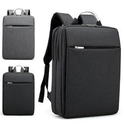 "Waterproof 15.6"" Men Laptop Backpack Business School Bag Tra"
