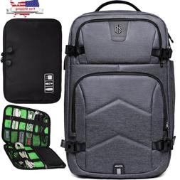 Waterproof 17 inch Laptop Backpack USB Port Notebook Travel