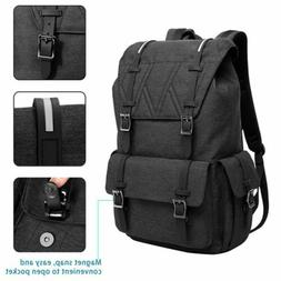 Waterproof Backpack Women Men School Bag Travel Laptop Bagpa