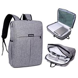 Garybank Waterproof Slim Laptop Backpack For Women Men Both