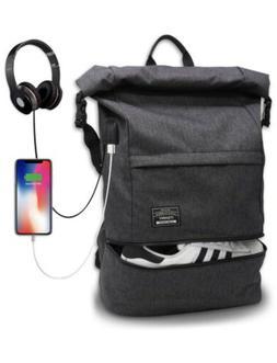 Waterproof Laptop Travel Backpack, Large College High School