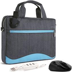 VanGoddy Wave Slim Aqua Anti Theft Messenger Bag for Samsung