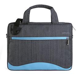 VanGoddy Wave Slim Blue Anti Theft Messenger Bag for Dell La