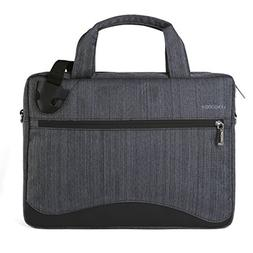 VanGoddy Wave Slim Charcoal Anti Theft Messenger Bag for Ace