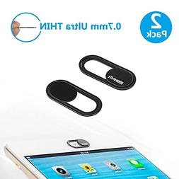 Webcam Cover 0.7mm Thin - Magnet Slider Camera Cover - Prote