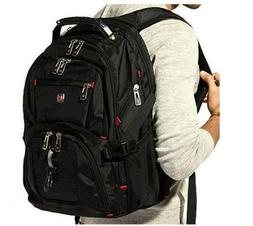 "Swiss 17.1"" inch Laptop Backpack Notebook Rucksack Business"