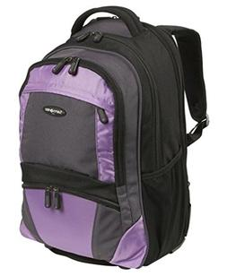 Samsonite Wheeled Laptop Backpack in Black-Bordeaux