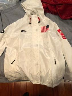 White Supreme X North Face Rain Jacket Size XXL