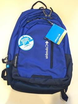 "Columbia Winchuck Backpack With 15"" Laptop Pocket, Azul"