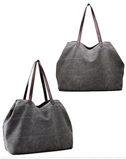 Sunwel Fashion Woman 3 Compartments Multi-pockets Large Spac