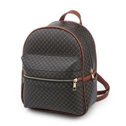 Backpack For Girl Faux Leather Bookbag Satchel Rucksack Smal