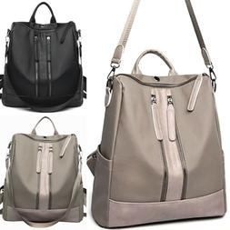 Women Girl Waterproof Oxford Rucksack School Laptop Backpack