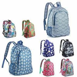 Women Girls Shoulder School Bag Laptop Backpack Travel Outdo