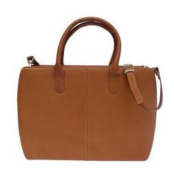 Piel Leather Women's Portfolio, Saddle, One Size