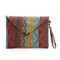Women Purse, Gillberry Women Envelope Clutch Handbag Purse T